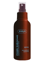 ZIAJA COCOA BUTTER BODY SPRAY TANNING ACCELERATOR