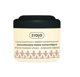 ZIAJA CONCETRATED CASHMERE HAIR MASK MOISTURISING AND VOLUME