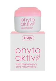 ZIAJA PHYTO AKTIV regenerating Face CREAM anti-redness CAPILLARy skin NIGHT 50ml
