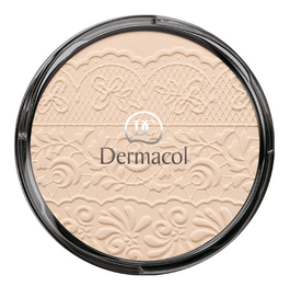 DERMACOL COMPACT LACE RELIEF PUDER Z KORONKĄ