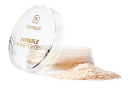 DERMACOL INVISIBLE FIXING POWDER PUDER TRANSPARNETNY