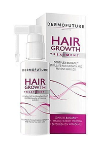 DERMOFUTURE HAIR GROWTH KURACJA PRZYSPIESZAJĄCA WZROST I ZAPOBIEGAJACA WYPADANIU WŁOSÓW