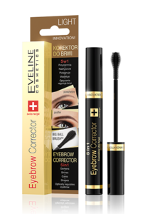 EVELINE COSMETICS INNOWACJA KOREKTOR DO BRWI 5W1 EYEBROW CORRECTOR SWISS RECIPE