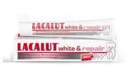LACALUT WHITE & REPAIR PASTA DO ZĘBÓW WYBIELANIE I NAPRAWA SZKLIWA