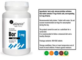 MEDICALINE ALINESS BOR 100 TABLETEK VEGE SUPLEMENT DIETY