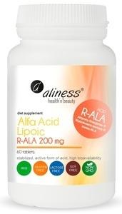 MEDICALINE ALINESS Kwas Alfa Liponowy R-ALA 200 mg 60 TABLETEK