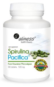 MEDICALINE ALINESS SPIRULINA PACIFICA HAWAJSKA 500mg 90 tabletek