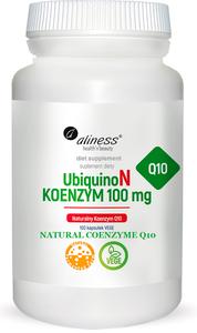 MEDICALINE ALINESS UbiquinoN NATURALNY KOENZYM Q10 100 KAPSUŁEK VEGE